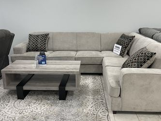 Sleeper Sectional w/ Queen Pullout Bed for Sale in Fort Worth,  TX