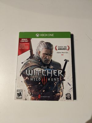 The Witcher wild hunt with bonus content for Sale in Kennewick, WA