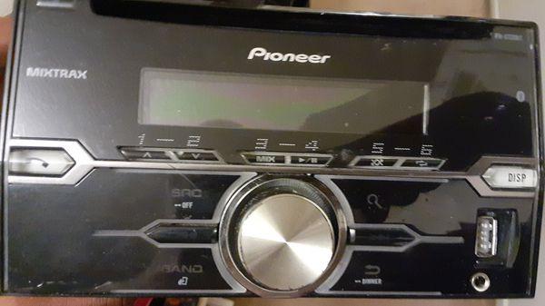 Pioneer FHX720 Bt double din head unit