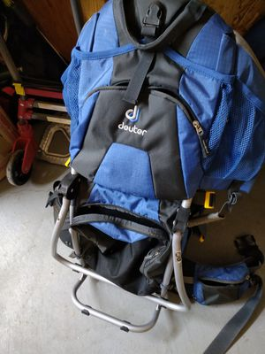 Backpack baby/child carrier. Brand in photo. for Sale in Portland, OR