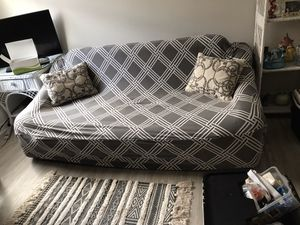 Blowup Couch with Cover and Pump for Sale in New Smyrna Beach, FL