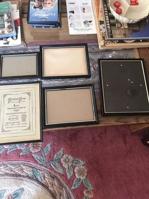 Group of certificate frames for Sale in North Potomac, MD