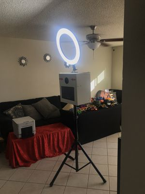 Photo Booth Setup for Sale in West Covina, CA