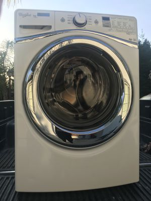 Whirlpool Washer Machines- Front Loader White 3 years old Works Excellent! for Sale in Carmichael, CA