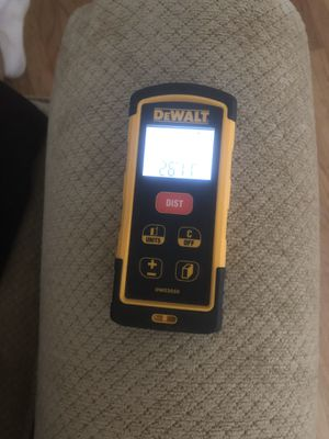 Dewalt distance measure laser for Sale in Livermore, CA
