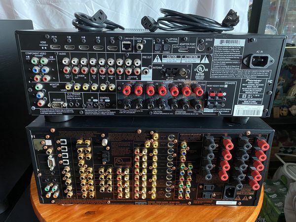 Repair or Parts- Polk Audio PSW 110 Blk 110 V, KEF Coda S, Optimus PRO SW, Pioneer Elite Receiver, Marantz Receiver