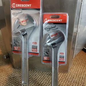 Crescent Wrench 10 in & 12 in. for Sale in Pomona, CA