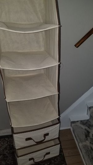 Closet Organizer w/ 2 drawers for Sale in Baltimore, MD