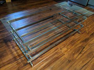 Chrome Finish Rectangular Coffee Table - T299-1 Ashley Furniture Frandelli for Sale in Seattle, WA