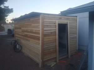 16Lx10wx8h. Shed built insite for Sale in Las Vegas, NV