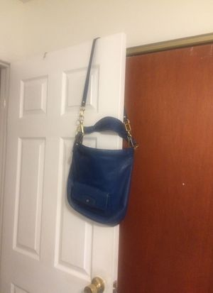 Dark turquoise Coach purse for Sale in Columbus, OH
