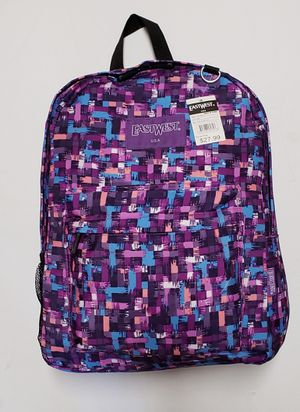 NEW! Purple Regular Size Backpack For School/Traveling/Work/Gym/Everyday Use $9 for Sale in Carson, CA