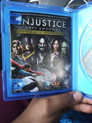 Injustice Ultimate Edition (Ps4) for Sale in Riverview, FL