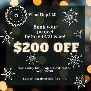 Carpentry, Carpenter, Vanity, Bookshelf, Entertainment Center, Hutch for Sale in Seattle, WA