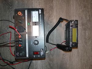 Icom IC-2100 FM Transceiver and MFJ regulated dc power supply for Sale in Denver, CO