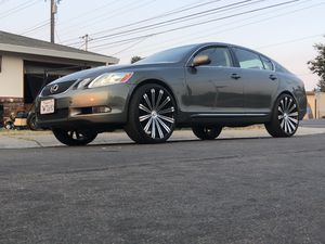 Lexus 2006 super clean‼️ 140,000 miles 2021 tags AC super cold 22 inch rims with low pro tires 9500 no games farm.... for Sale in Sacramento, CA