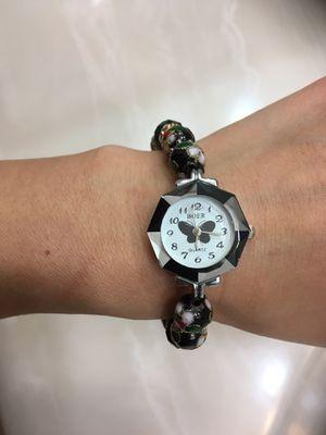 Beautiful Bead Bracelet Butterfly Watch for Sale in Denver, CO