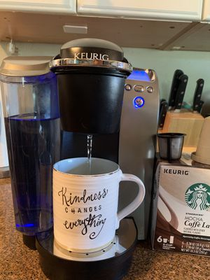 Keurig Coffee Machine - BONUS - extra coffee screens and kcups included for Sale in San Diego, CA