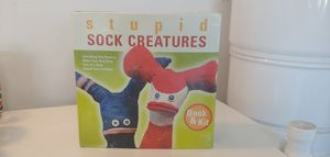 STUPID SOCK CREATURES BOOK & KIT for Sale in Plant City, FL