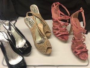 ladies size 9 shoes for Sale in Malden, MA