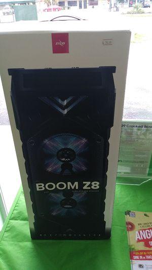 Boom Z8 Bluetooth speaker for Sale in Clearwater, FL