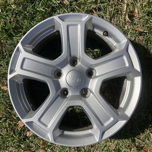"17""Jeep Wrangler JL {contact info removed}.5 FACTORY OEM ORIGINAL WHEEL RIM for Sale in Miramar, FL"