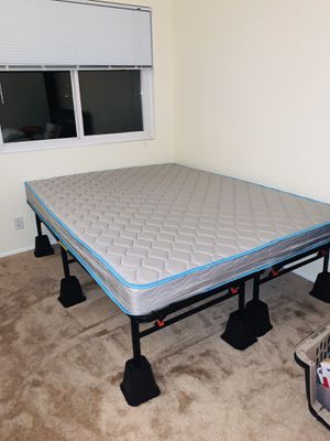 Queen bed and frame for Sale in Poway, CA