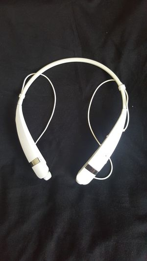 LG TONE PRO BLUETOOTH HEADSET MODEL #HBS760( WHITE) BOX NO ACCESSORIES ONLY NECKBAND for Sale in Carrollton, TX