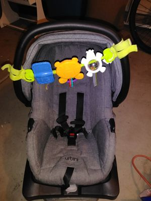 Urbini car seat and toy for Sale in Tucson, AZ