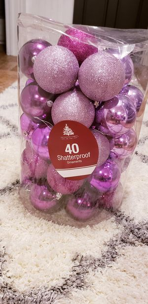 Purple Christmas decorations for Sale in Greenwood, IN