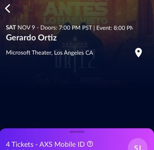 Gerardo Ortiz, Septima Banda, Banda Renovacion Concert for Sale in Santa Ana, CA