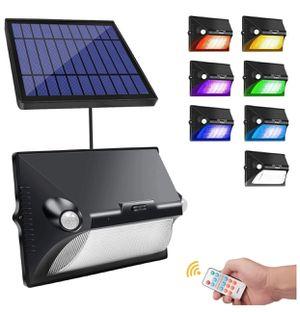 Brand New Solar Motion Sensor Light Outdoor, 180° Wide Angle, IP65 Waterproof, Easy-to-Install Security Lights for Front Door, Yard, Garage, Deck for Sale in Hayward, CA
