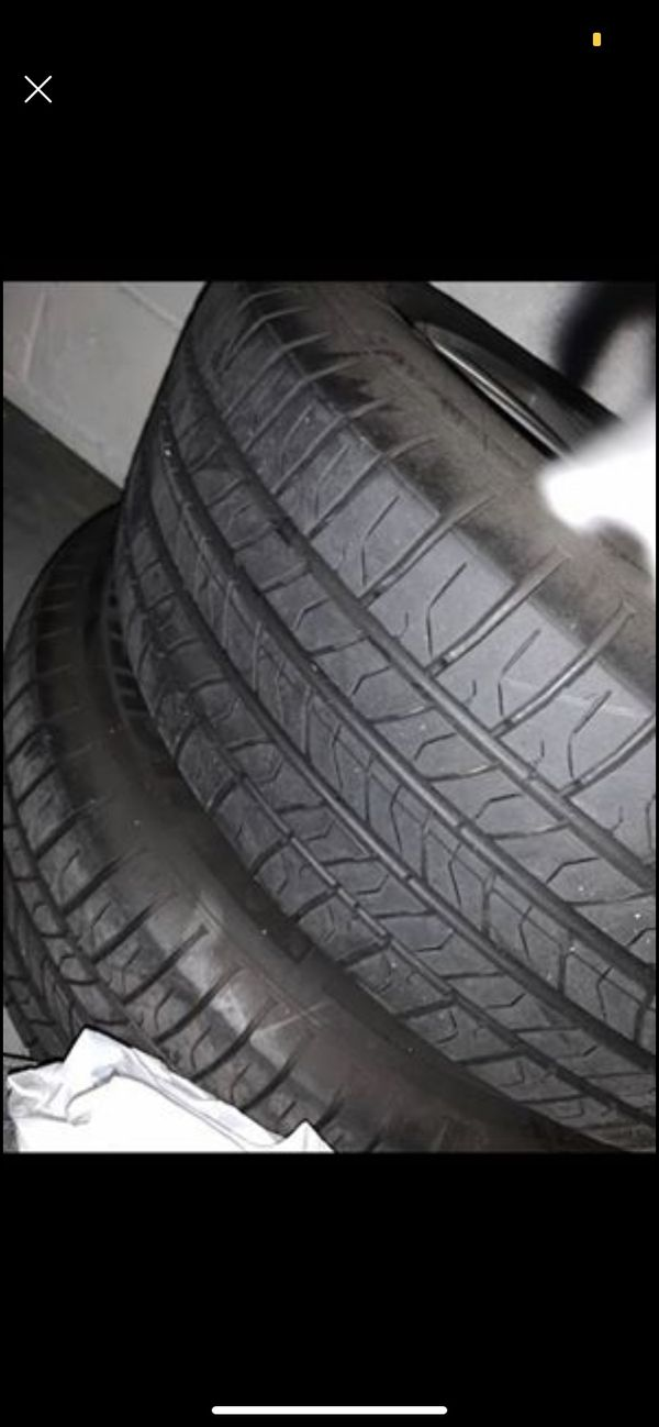 Ford Mustang rims with tires