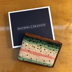 Smathers & Branson Rainbow Trout Bi-Fold Wallet for Sale in Seattle,  WA