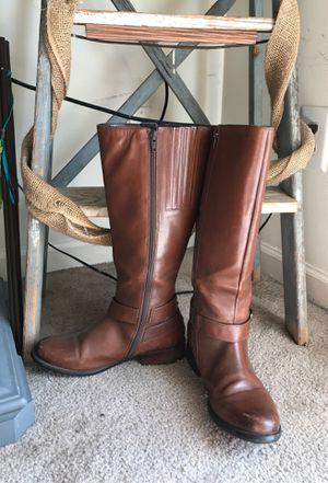 Clark's Boots - Women's size 8 wide calf for Sale in Murfreesboro, TN