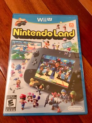 Nintendo Land Wii U for Sale in Tacoma, WA