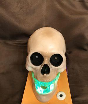 Halloween💀LED Strobing Skull Tabletop for Sale in Palm Springs, FL