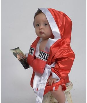 Baby Boxing Halloween Costume (Actual material of pro boxing gear) for Sale in Hawthorne, CA