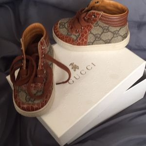 Toddler authentic Gucci sneakers for Sale in Philadelphia, PA