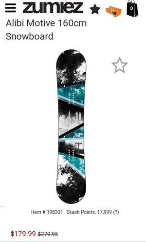 Alibi Snowboard Burton Bindering & Boots Plus Bag for Sale in Waldorf, MD