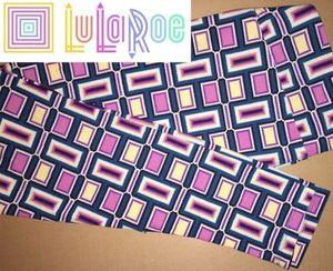 LuLaRoe TC Leggings Pink Teal Purple for Sale in Creve Coeur, IL