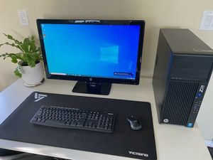 Gaming PC HP Z230, i5, 32GB RAM!!, 256gb SSD, 1TB HDD, GTX 760 GPU for Sale in Lake View Terrace, CA