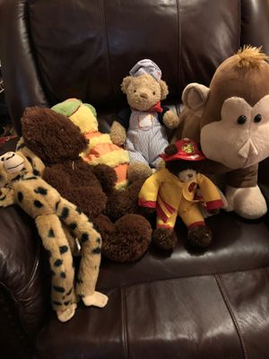 Lot of 6 children's stuffed animal toys for Sale in Gahanna, OH