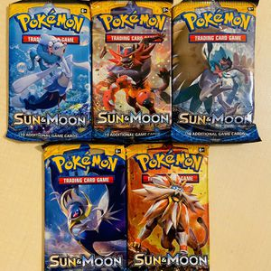 Pokemon Cards: Sun and Moon Base Set for Sale in Irvine, CA