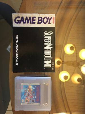 Nintendo game boy super Mario land for Sale in Visalia, CA