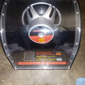 """12"""" Polk Audio Speaker 1000 Watts This Thing Is A Monster for Sale in Pomona, CA"""