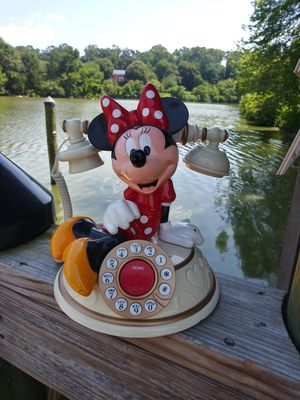 Vintage Disney Phone Minnie Mouse for Sale in Gaithersburg, MD