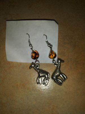 Brand new giraffe earrings for Sale in Sumner, WA