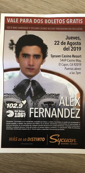 Alex Fernandez for Sale in San Diego, CA