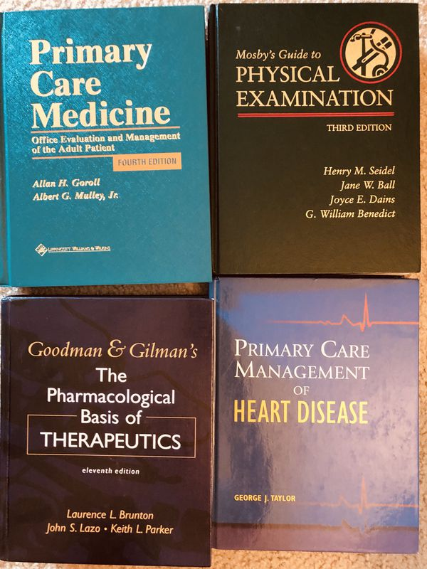 Medical College Textbooks Very Good Condition